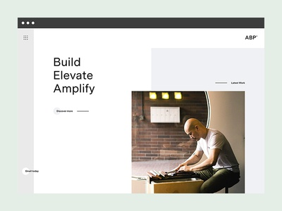 Portfolio Homepage branding web soon coming studio agency design portfolio homepage