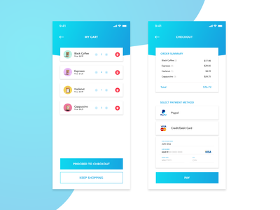 Credit Card Checkout - Daily UI #2
