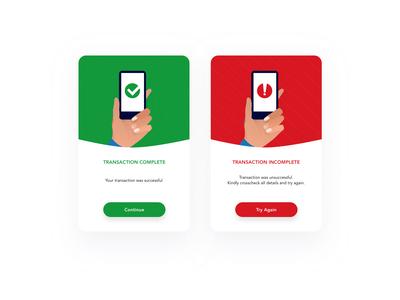 Payment App - Flash Message Concept