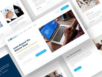 Website Design - Online learning Platform