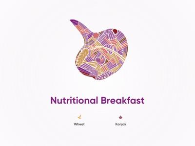 Nutritional Breakfast - Konjak