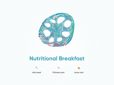 Nutritional Breakfast - Lotus root