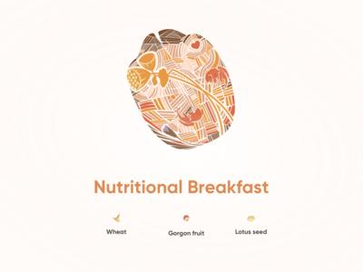Nutritional Breakfast - Gorgon fruit