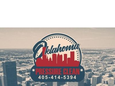 Oklahoma Pressure Clean Logo logo design