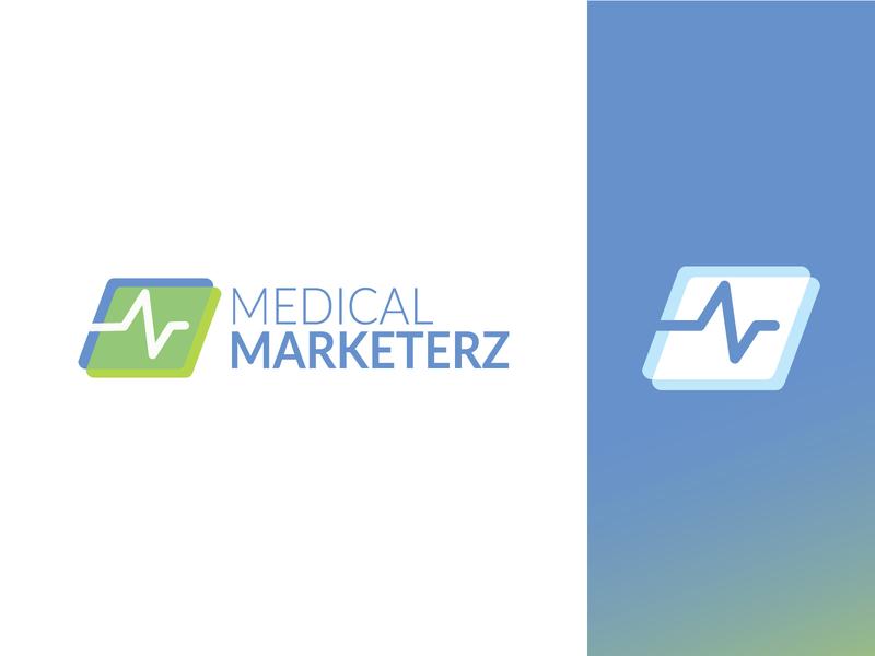 Medical Marketerz concept marketing medical logo design branding design logo