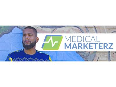 Medical Marketerz marketing medical logo icon