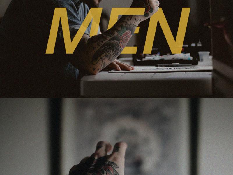 MEN'S CONFERENCE typography branding design conferences graphics