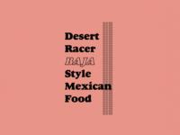 DESERT RACER PART 1