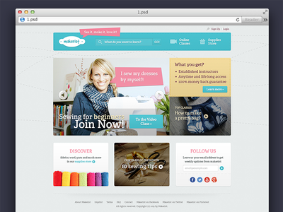 Home home landing page stiches website slider boxes
