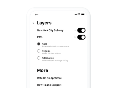 Settings iphone x iphone ios typography list switch toggle form settings