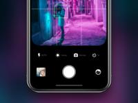 Camera App UI