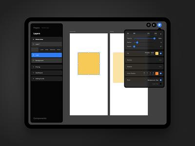 What if... design app ipad ios