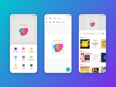 Mobile Editor editor ui sheet design editor app ios