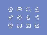 Atom Icons