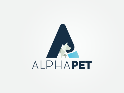 Pet Poly corporate identity illustration branding pet logodesign poly lowpoly brand abstract dog design logo