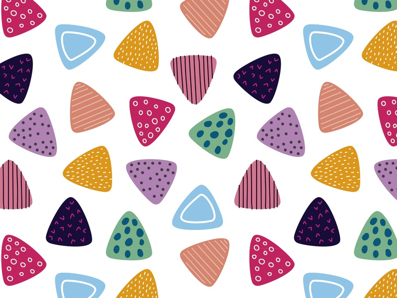 Colorful triangle pattern illustration vector background pattern colorful design seamless pattern backdrop banner wrapping paper textile pattern wallpaper handdrawn shapes triangle colorful