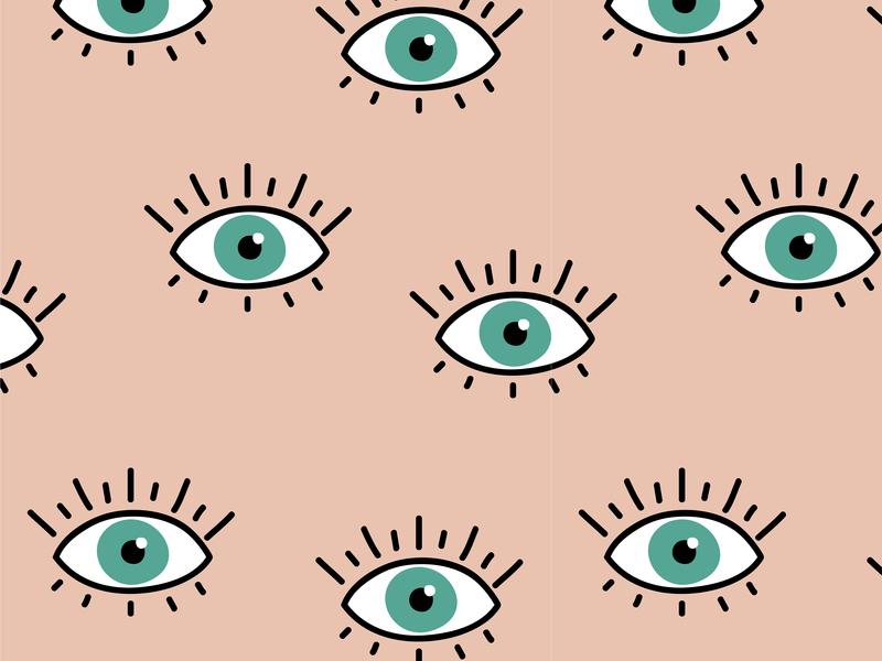 Eyes pattern design illustration wallpaper design estampado rapport textile pattern backdrop banner background eyes vector ilustration wallpaper pattern design pattern eye