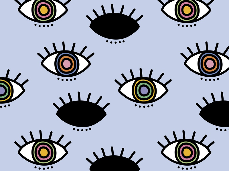 Eyes Wallpaper blue multicolor drawn handdrawn pattern design seamless pattern colorful art design illustration colorful vector pattern digital paper backdrop banner background wallpaper eye eyes