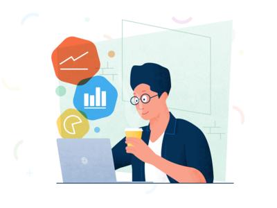 Coffee, code and charts