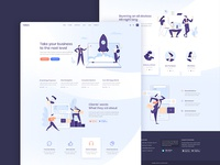 Foton - Software and App Landing Page Theme elementor wordpress theme qode interactive ux ui orange purple light gradient modern creative marketing app animation
