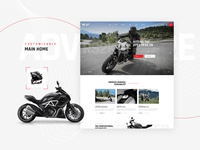 GrandPrix - Motorcycle WordPress Theme