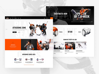TopScorer - Sports WordPress Theme orange wordpress website ux ui sports theme sports team sportspress sports league sports sport club soccer rugby league hockey football basketball baseball animation american football