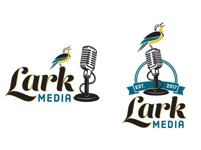 Lark Media Logos