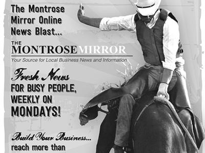 Montrose Mirror Rodeo Ad