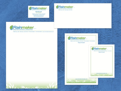 Rainmaker Logo & Business Collateral