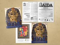 Aida Program for Opera Theatre of the Rockies