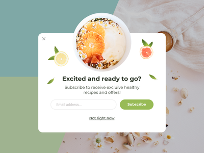 Daily UI 016 website challenge pop up popup daily 100 challenge 016 daily ui 016 ui daily ui dailyui