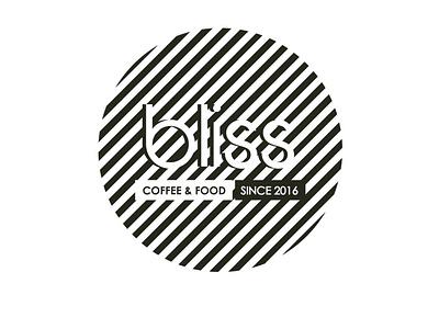 Bliss ~ Coffee & Food illustrator branding logo vector typography type minimal graphic design flat design