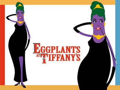 Eggplants At Tiffanys