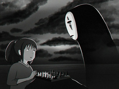 Spirited Away and The Seventh Seal