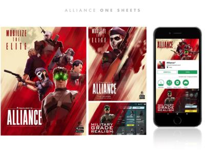 Alliance Key Art and Social