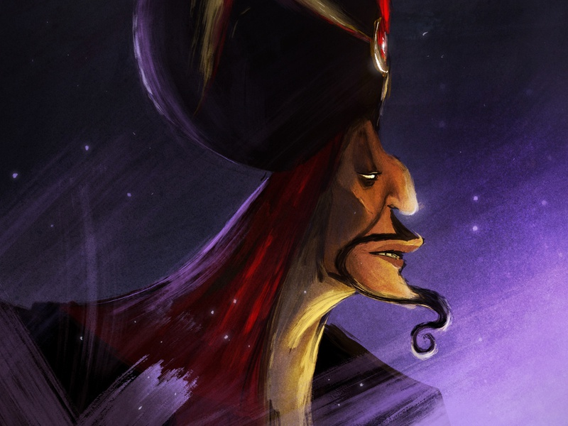Bring me the lamp disney art jafar aladdin disney fantasy design illustration