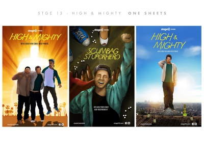 High And Mighty Key Art graphicdesign poster keyart