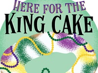 Here for the King Cake