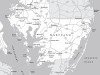 Chesapeake Bay Map maps cartography