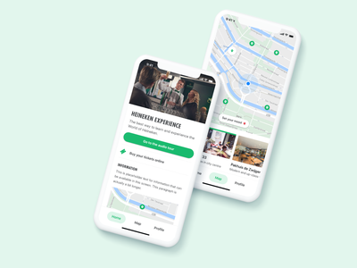Discover a city app