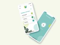 Meditation interaction app design