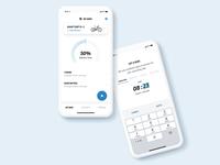 Connect e-bike app screen