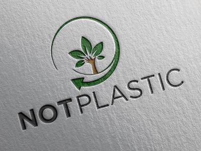NOT Plastic Logo.