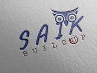 """SAIK BUILD UP"" Technology Logo."