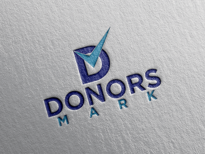 Donors Mark Logo Design