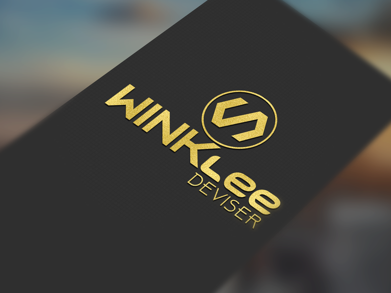 Winklee Deviser Logo. event logo event branding flat icon vector design logo logo design branding