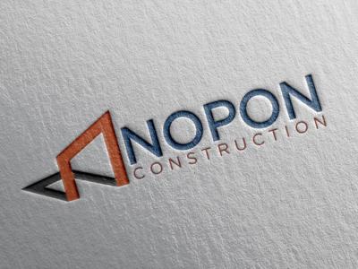 """Nopon Construction"" Logo Design."