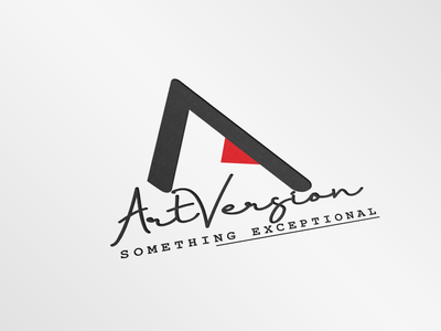 """Art Version"" Logo."