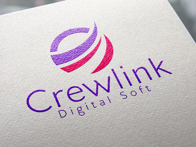 Crewlink Digital Software Company Logo.