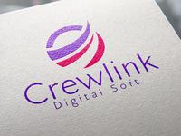 Crewlink Digital Software Company Logo.